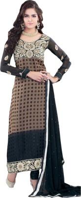 Porwal Bros Georgette Self Design Salwar Suit Dupatta Material