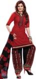 Lime Mode Cotton Self Design Salwar Suit...