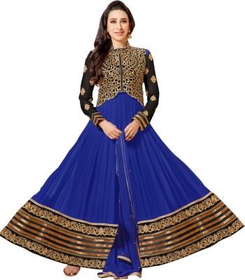 Makedeal Georgette Embroidered Salwar Suit Dupatta Material
