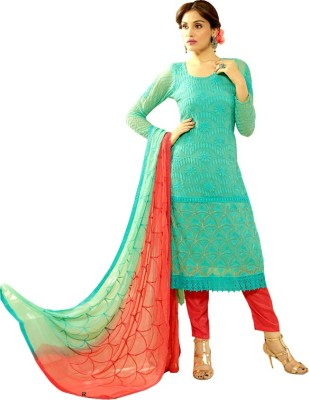 Friday Wear-Your choice Chiffon Paisley Salwar Suit Material