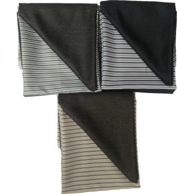 Suncity Gwalior Polyester Striped Shirt & Trouser Fabric