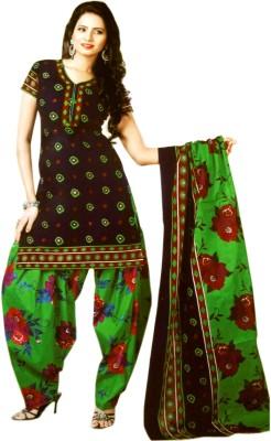 Non Stop Shopping Cotton Printed Salwar Suit Dupatta Material