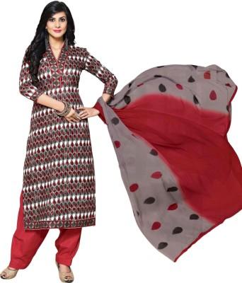 Dfolks Cotton Printed Salwar Suit Dupatta Material