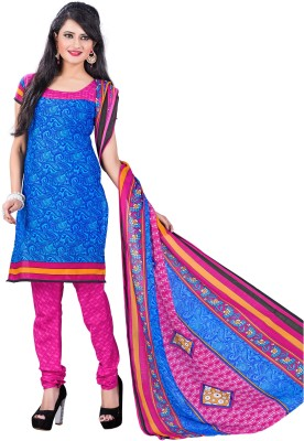 Aarna's Collection Cotton Printed Salwar Suit Dupatta Material