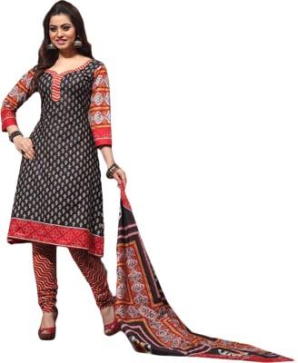 Khanak's Cotton Printed Salwar Suit Dupatta Material