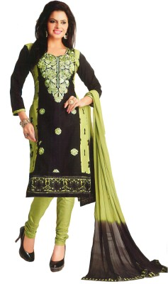 SGC Cotton Embroidered Salwar Suit Dupatta Material