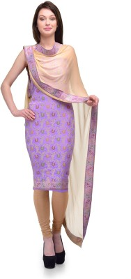 Sspk Silk Self Design Salwar Suit Dupatta Material
