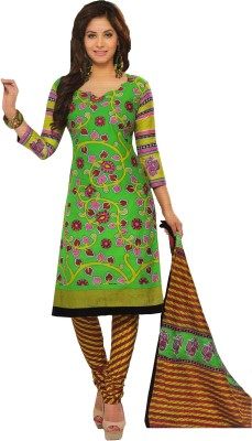 AminQuest Cotton Printed Salwar Suit Dupatta Material