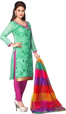 Price Bet Chanderi Embroidered Salwar Suit Dupatta Material