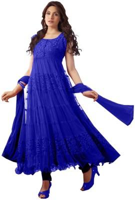 MDC Brasso Self Design Salwar Suit Dupatta Material