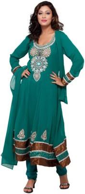 Seema Chiffon Solid Salwar Suit Dupatta Material