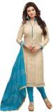 Kavya Shopping Chanderi Embroidered Dres...