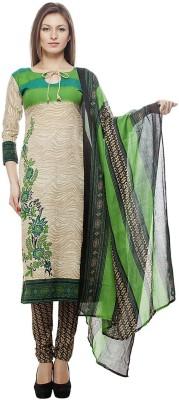 Merito Cotton Printed Salwar Suit Material, Salwar Suit Dupatta Material(Un-stitched)