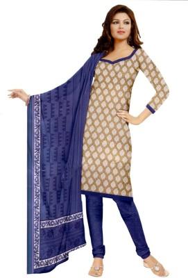 Charu Boutique Cotton Printed Salwar Suit Dupatta Material
