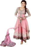 Fashion Forever Net Embroidered Salwar S...