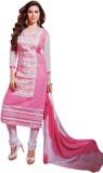 KrishnaFashion321 Cotton Embroidered Sem...