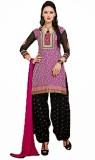Vineberi Cotton Solid Salwar Suit Dupatt...