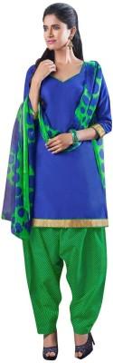 Amelliaz Cotton, Chiffon Graphic Print Salwar Suit Dupatta Material