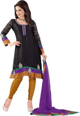 Vishal Satin Self Design Salwar Suit Dupatta Material