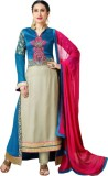 Amrozia Georgette Embroidered Salwar Sui...
