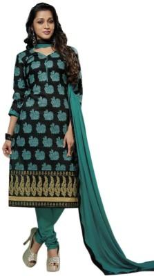 Mehta Collection Satin Self Design Salwar Suit Dupatta Material