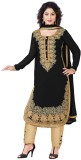Styles Closet Georgette Embroidered Salw...