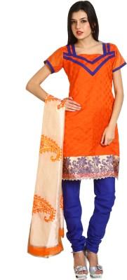 Parchayee Jacquard Geometric Print Salwar Suit Dupatta Material