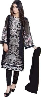 Fashions Chiffon Woven Semi-stitched Salwar Suit Material