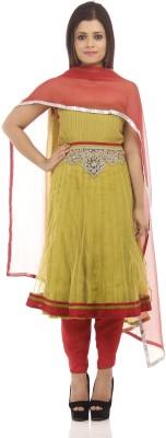 Chhabra 555 Nylon Embellished Salwar Suit Dupatta Material