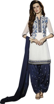 Yati Georgette Embroidered Salwar Suit Dupatta Material
