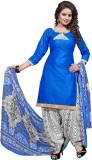 Raagvi Cotton Printed Salwar Suit Dupatt...