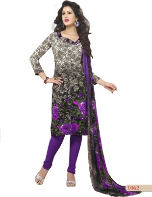 M.S. Boutique-Sbt Synthetic Printed Salwar Suit Dupatta Material