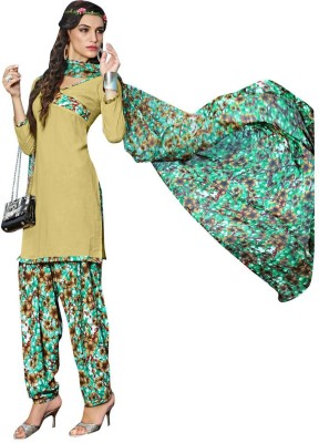 Aagamanfashion Polyester Printed Salwar Suit Material