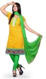 Vimush Fashion Chanderi Printed Dress/To...