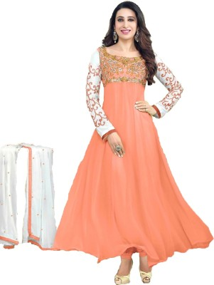 Parth Georgette Embroidered Salwar Suit Dupatta Material