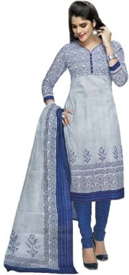 Galaxy Women Cotton Printed Salwar Suit Dupatta Material