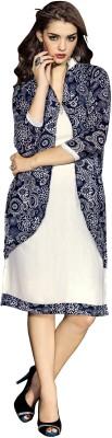 Aasvaa Georgette Printed Salwar Suit Dupatta Material