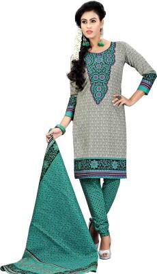 Merry Fashion Cotton Self Design Salwar Suit Dupatta Material