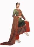 Ada Fabrics Satin Printed Suit Fabric (U...