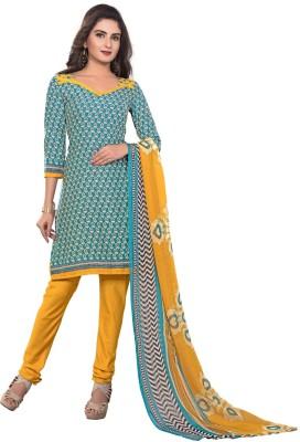 Youth Mantra Crepe Printed Salwar Suit Dupatta Material