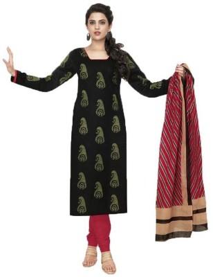 Sg Sarees Cotton Printed Salwar Suit Dupatta Material