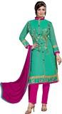 Shopeezo Silk Solid Salwar Suit Dupatta ...