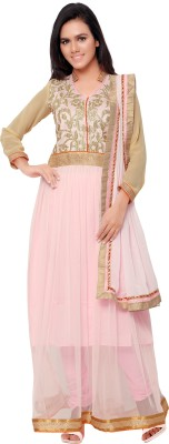 Florence Georgette Embroidered Salwar Suit Dupatta Material