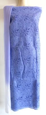 RR Creation Lucknow Cotton Polyester Blend, Georgette Embroidered, Embellished Salwar Suit Dupatta Material