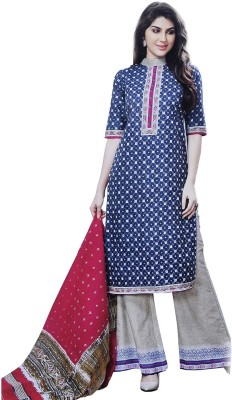 SFZ Fashion Cotton Printed Salwar Suit Material