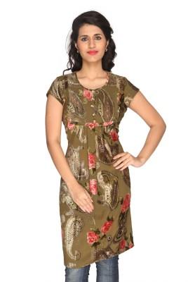 Gusaig Georgette Self Design Dress/Top Material