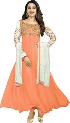 Gulista Georgette Self Design Salwar Suit Dupatta Material