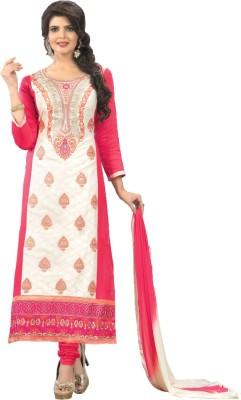 Araja Cotton Embroidered Salwar Suit Dupatta Material
