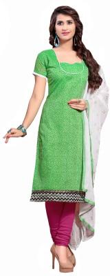 Jiya Chanderi Self Design, Printed Salwar Suit Dupatta Material