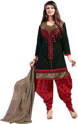 Panku Cotton Embroidered Salwar Suit Dupatta Material